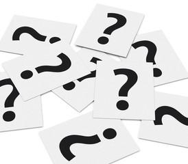 Die Fragekarten