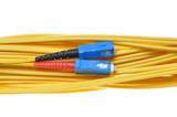 Singlemode fiber patchcord SC-PC, duplex poster