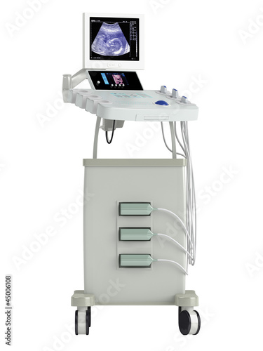 Ultrasound scanner for ultrasonography