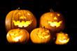 Halloween latern pumpkins