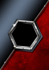 Hexagon Modern Business Background