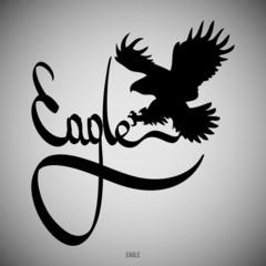 Eagle Calligraphic elements