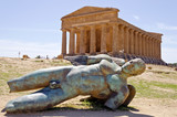 Icarus - Valley of the Temples in Agrigento on Sicily, Italy
