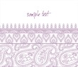 traditional paisley floral pattern , template , royal India