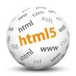 Kugel, HTML5, Webdesign, Design, Internet, Technologie, Web, www