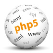 Kugel, PHP5, Webdesign, Server, Internet, Technik, programmieren