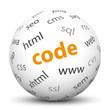 Kugel, Code, Internet, Programmierung, Sphere, Entwicklung, 3D
