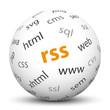 Kugel, RSS, Feed, Nachricht, Technik, Abonnent, abonieren, News