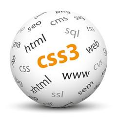 Kugel, CSS3, Design, Gestaltung, Webdesign, Homepage, Website