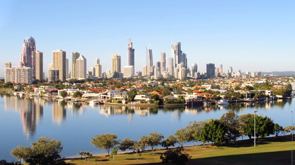 Gold Coast City, early morning