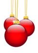Weihnachtskugel, Christbaumschmuck, Dekoration, Baumschmuck, Rot