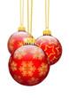 Christbaumschmuck, Schmuck, Dekoration, Rot, Weihnachtsbaum
