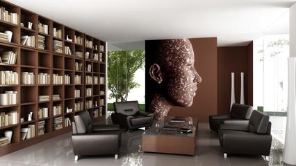 Private bibliothek