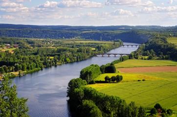 Dordogne river, Cingle de Tremolat point, France