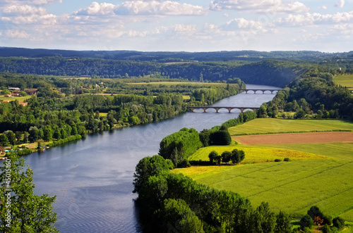 Dordogne river, Cingle de Tremolat point, France