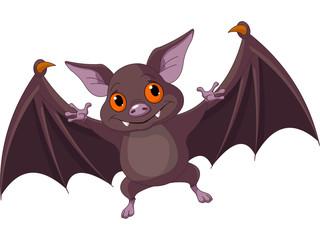 Halloween  bat  flying