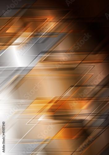 Bright hi-tech vector background