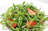 tomate rucola salat