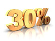30 percent