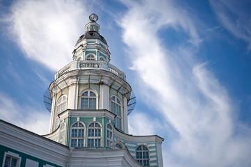 The Kunstkamera museum building in Saint-Petersburg, Russia
