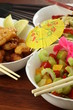 Colorful chinese cuisine