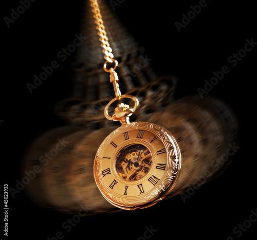 canvas print picture Hypnotizing pocket watch