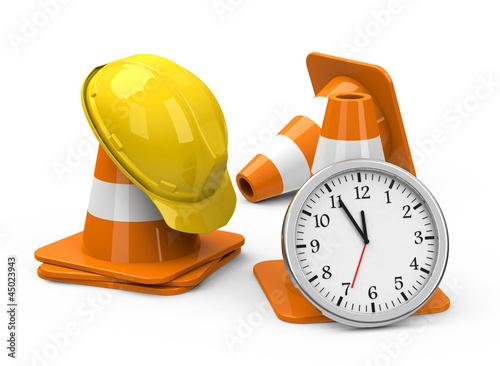 Die Baustellendauer