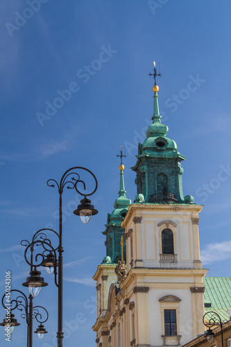 Holy Cross Church (Kosciol Swietego Krzyza), Warsaw, Poland © Andrey Starostin