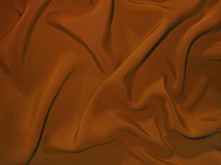 Dull chocolate-brown fabric (artificial silk)
