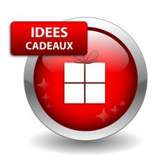 Bouton Web IDEES CADEAUX (offrir noël anniversaire sélection)