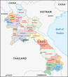 Laos Administrativ