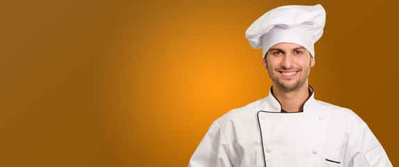 Portrait Of A Male Chef