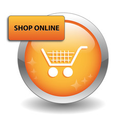 """SHOP ONLINE"" Web Button (add to cart order now buy click here)"