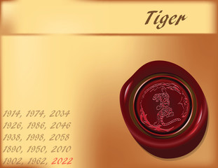 Year of the Tiger - the background