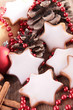 christmas biscuit and decoration