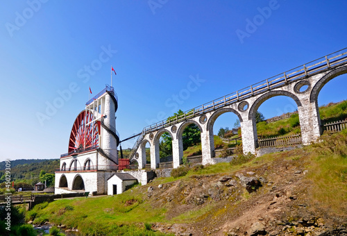 Leinwandbild Motiv The Great Laxey Wheel - Isle of Man