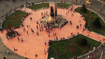 taksim square in istanbul