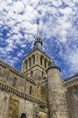 Abbazia di Le Mont Saint Michel - Normandia, Francia