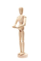 wooden figurine
