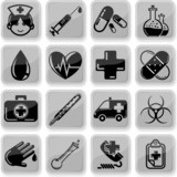 Healt Care Icon Set