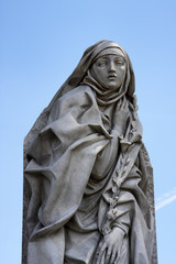 Catharina Da Siena Statue in Rome