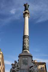 Monumento all' Immacolata in Rome