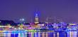 silhouette von Hamburg