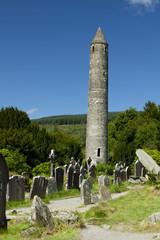Monastic City in Glendalough, Ireland