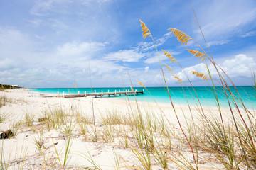 fototapeta karaiby plaża i morze