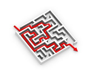 Labyrinthe - solutions