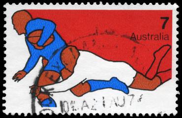 AUSTRALIA - CIRCA 1974 Rugby