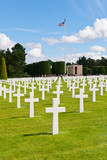 American War Cemetery at Omaha Beach, Normandy (Colleville-sur-M