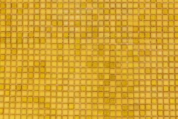 golden mosaic wall