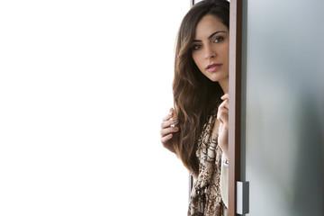 Modelo en el armario